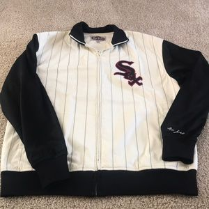 Men's Red Jacket brand Chicago White Sox jacket